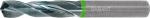 Solid carbide HPC drill plain shank DIN 6535 HA 1 mm