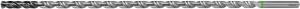 Solid carbide HPC deep-hole drill plain shank DIN 6535 HA 40×D 4 mm