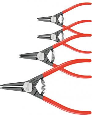 4-piece set of circlip pliers for external circlips 4