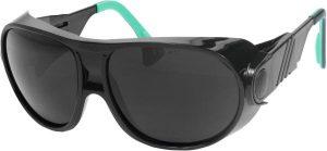 Welders' comfort safety glasses uvex futura 5
