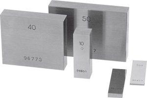DAkkS calibration Steel gauge block 150 mm