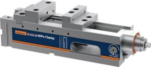 NC high-pressure vice HiPo Clamp with power intensifier 125