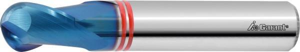 Diabolo solid carbide high precision ball nose slot drill HPC 0,1 mm
