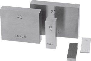 Steel gauge block Tolerance class 1 0,5 mm