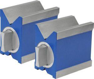 Pair of precision magnetic Vee blocks 70X45 mm