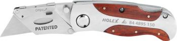 Cutter knife with fold-away blade 150 mm