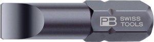Precision Bit®, slot-head, 1/4 inch, 25 mm long 4 mm