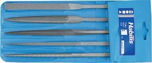 Set of Habilis high precision files 5 pieces 215/00